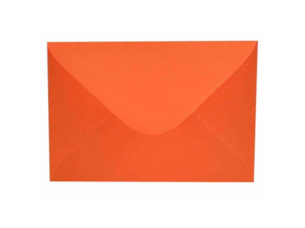 obálka c6 oranžová