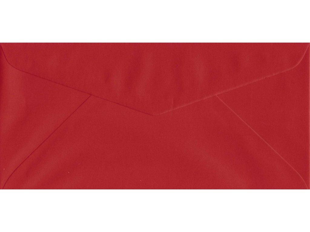 1244 obalka dl cervena 110x220 mm