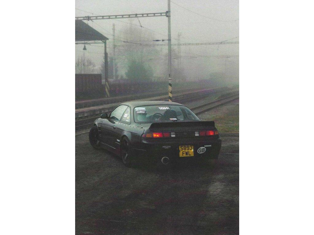 Postcard - Nissan Silvia S14