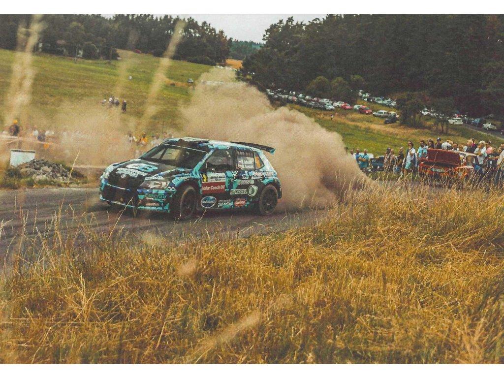 Postcard - Skoda Fabia R5 rally special