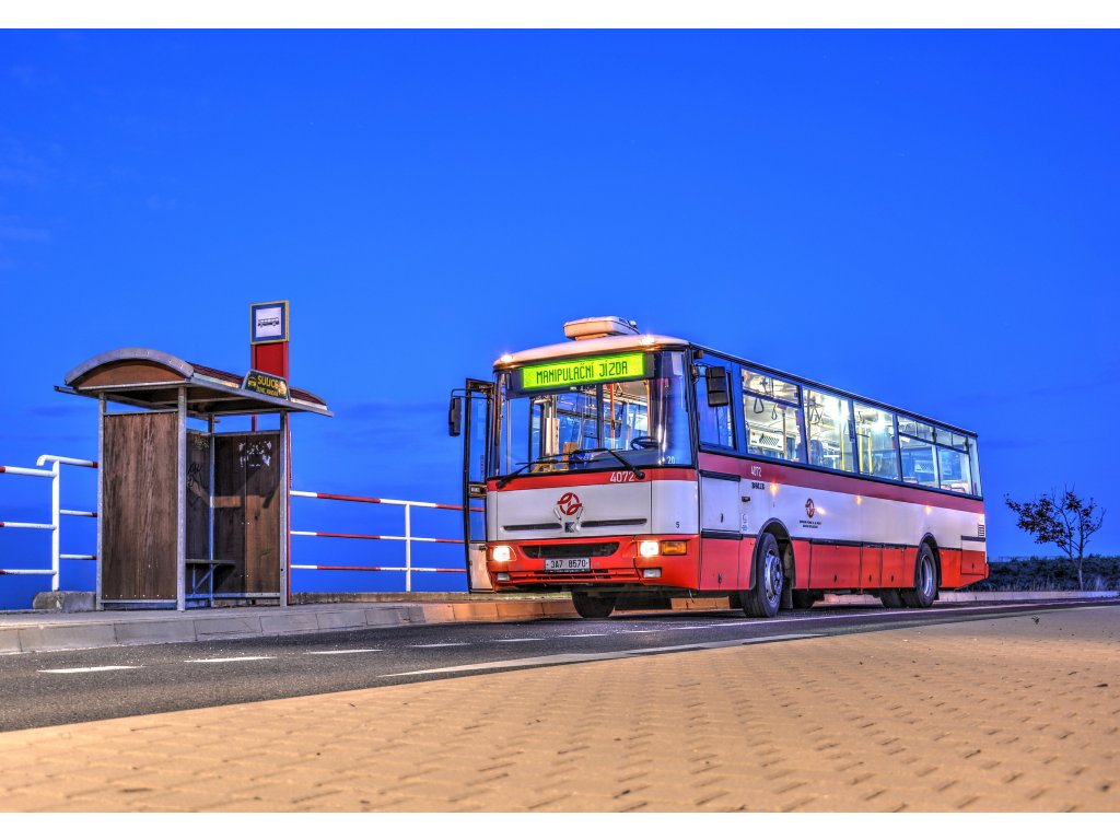 710 pohlednice autobus karosa b951e foto jan stastny