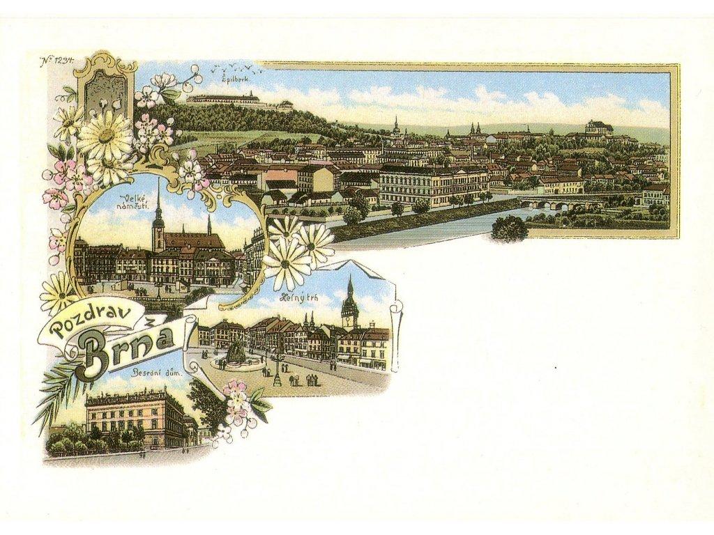 770 pohlednice brno