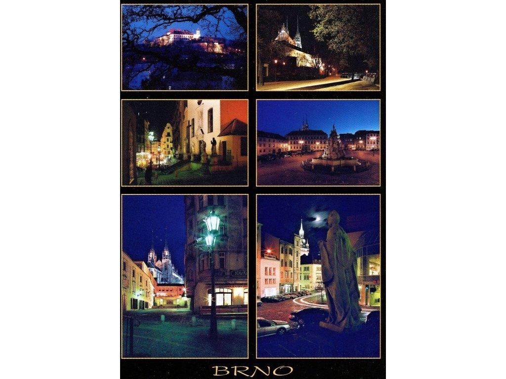 170 pohlednice brno