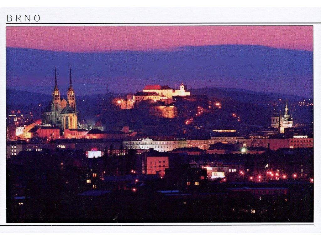 Postcard Brno, sunrise