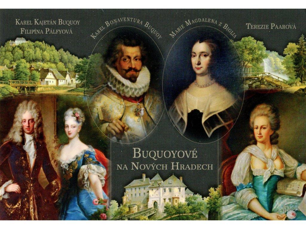 902 pohlednice buquoyove na novych hradech