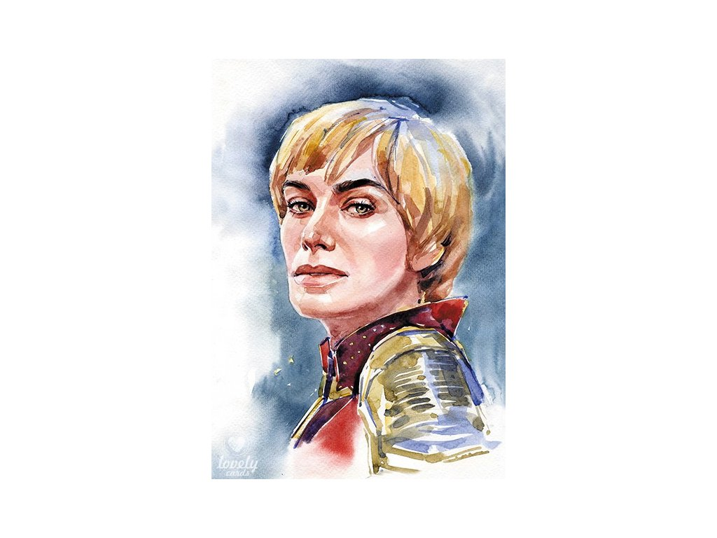 13745 2 pohlednice cersei lannister