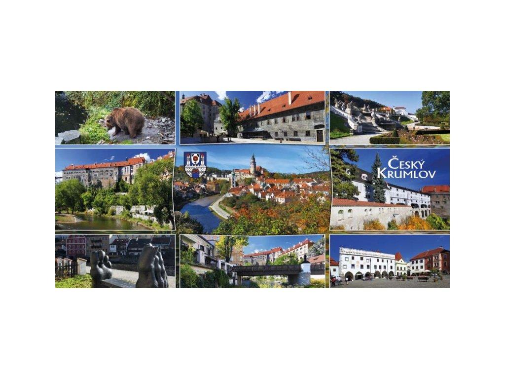 15461 3 pohlednice cesky krumlov siroka