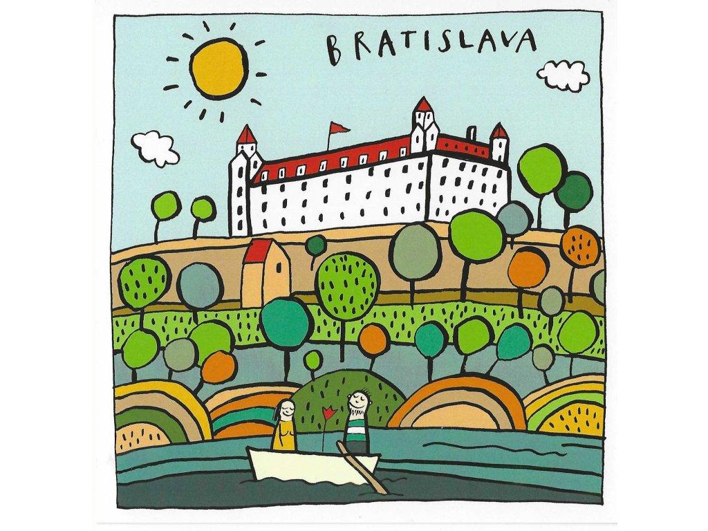Postcard to Bratislava! square