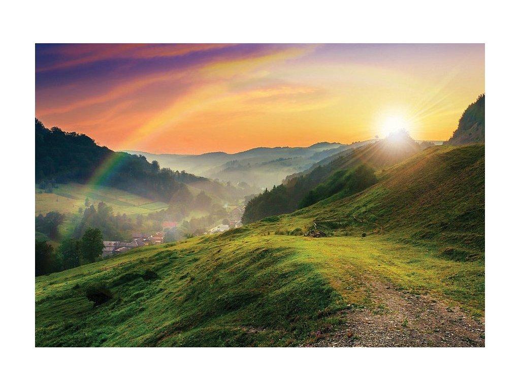 8027 3 pohlednice duha