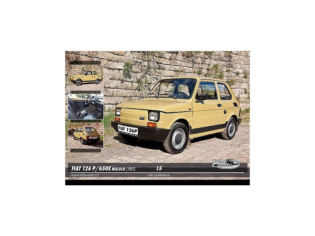 Postcards Fiat 126 P / 650 E