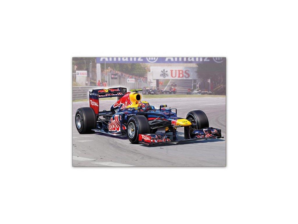 Postcard Formula Renault