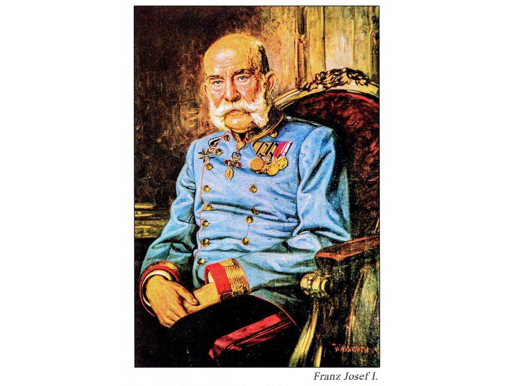 Postcard Franz Joseph I.