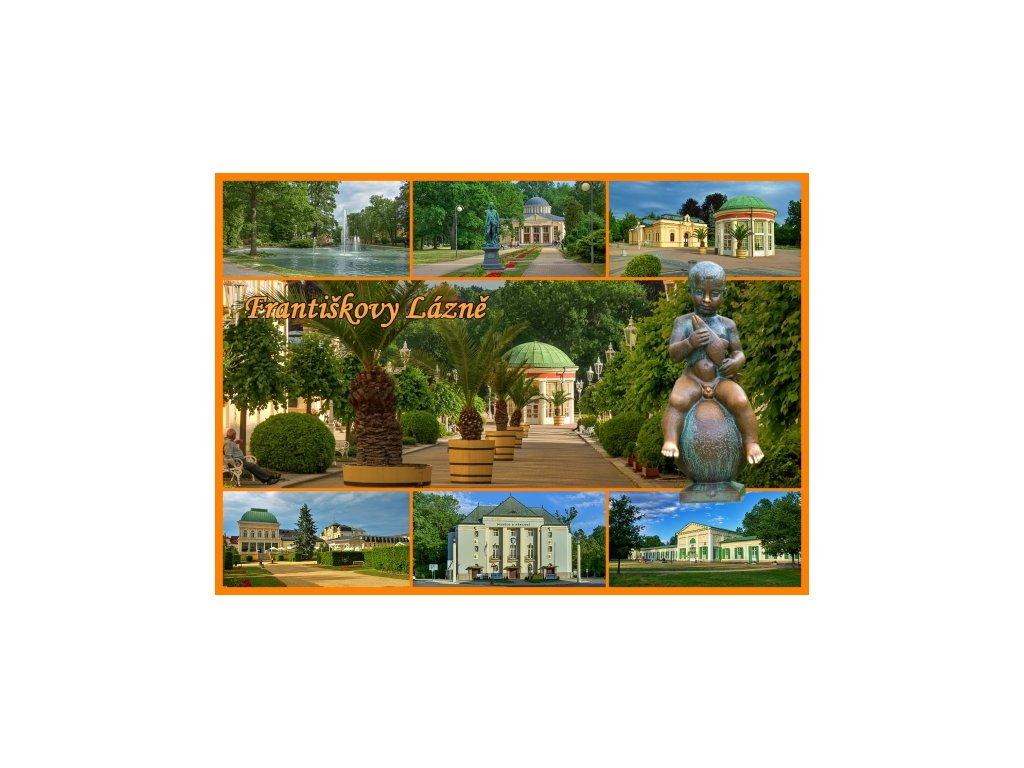 Postcard Franzenbad 1