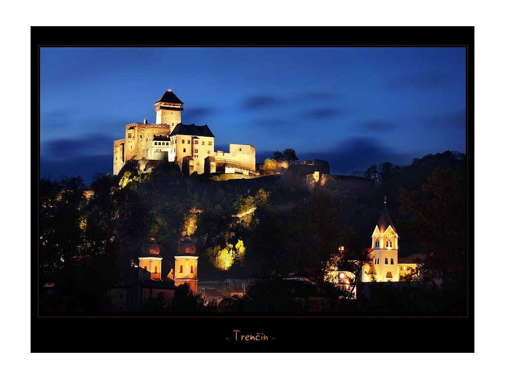 287 pohlednice hrad trencin 2 slovensko 17 x 12 5 cm