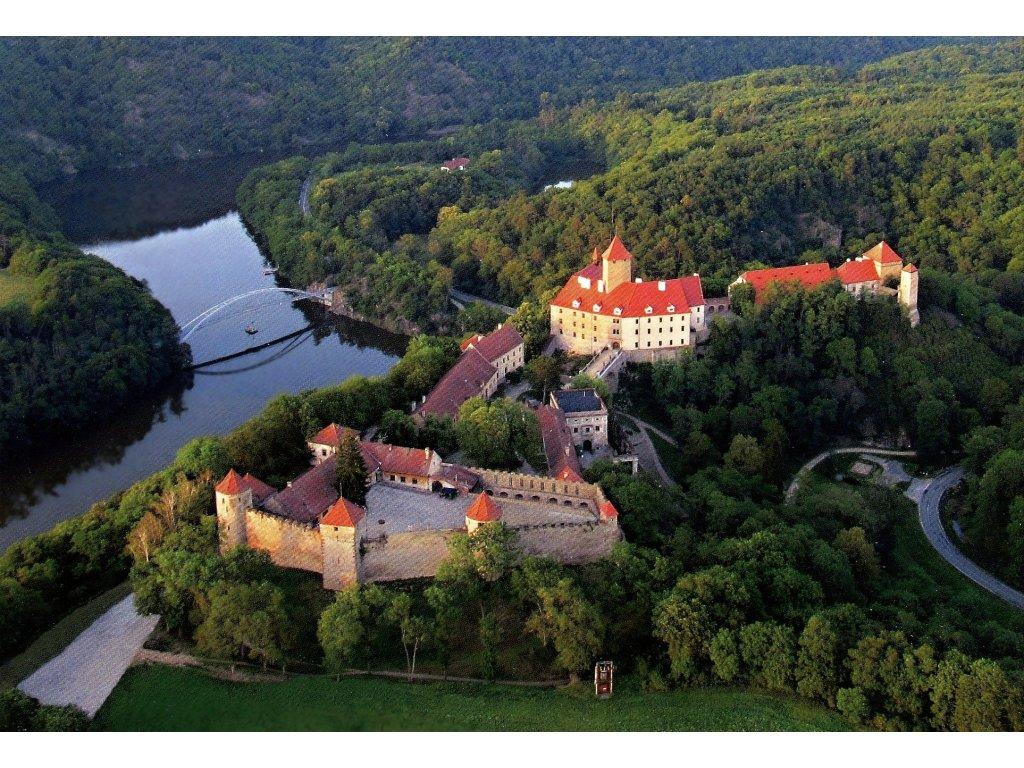 Postcard Castle Veveří