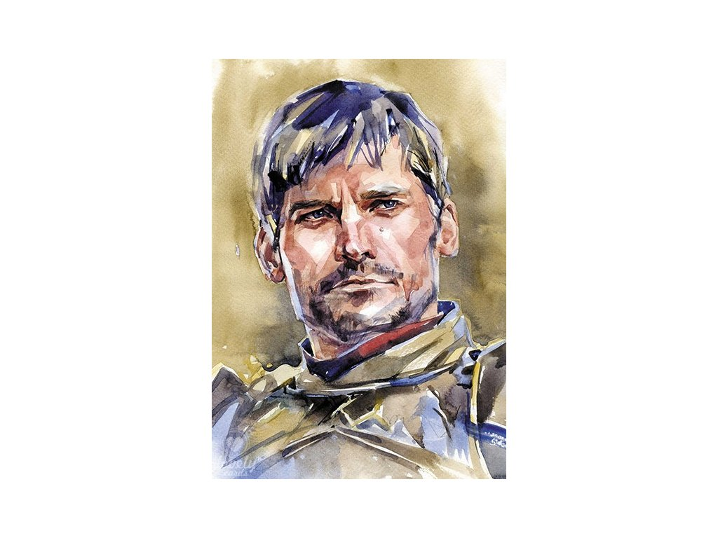 13742 2 pohlednice jamie lannister