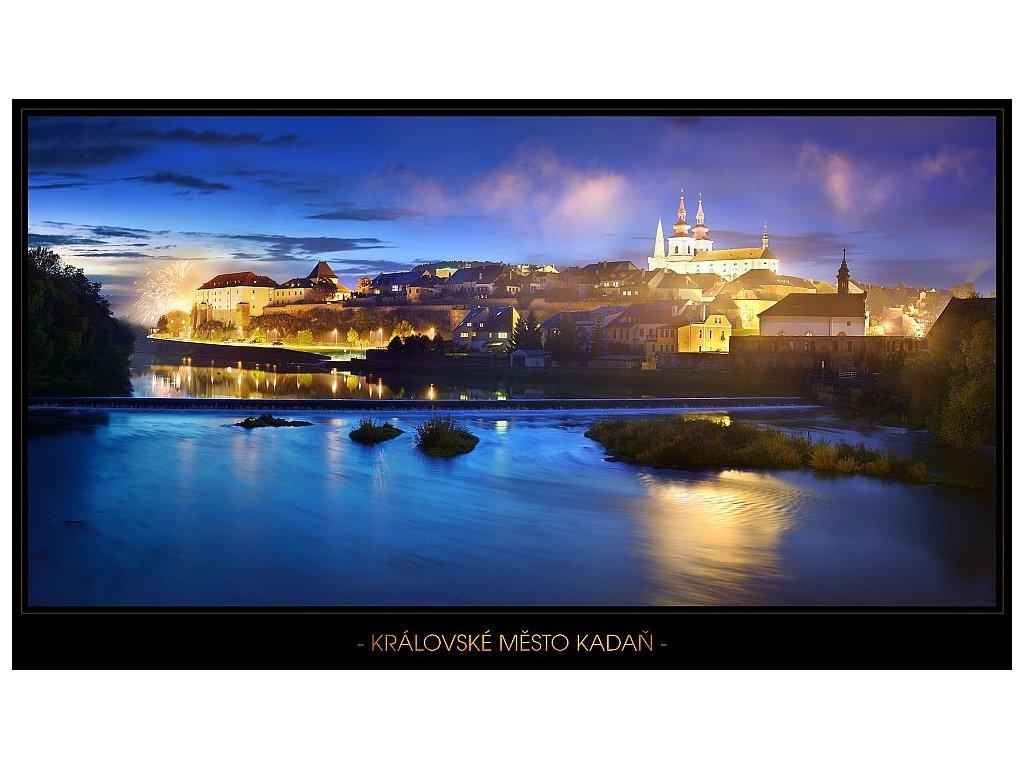 476 pohlednice kadan 3 21 x 12 cm