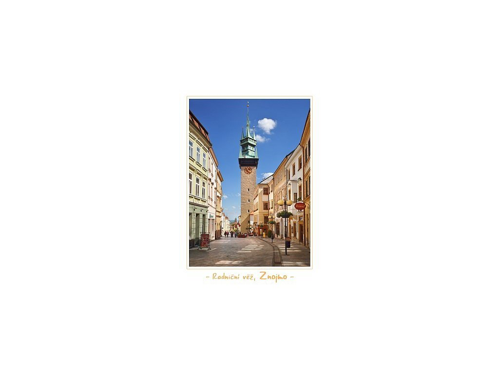 1223 pohlednice kralovske mesto znojmo