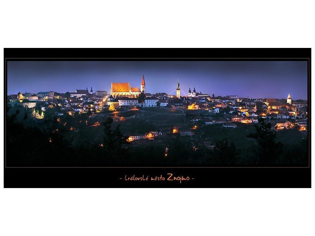 1235 pohlednice kralovske mesto znojmo