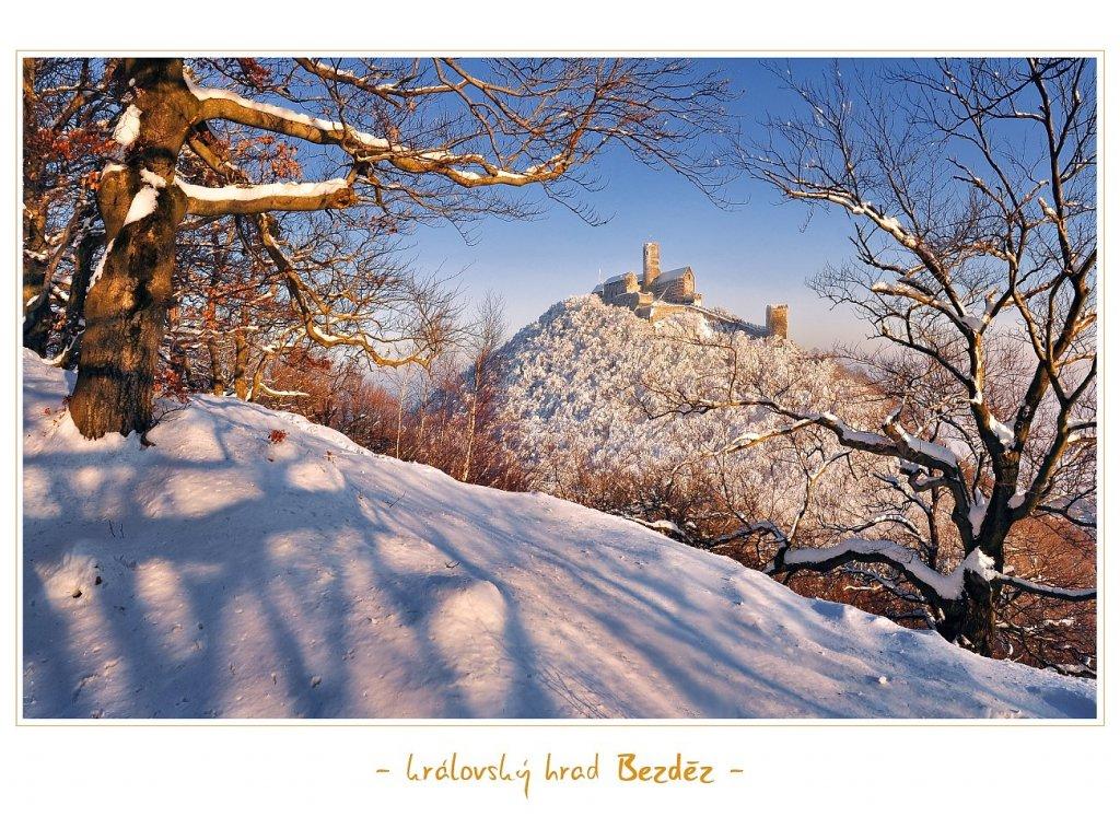 1364 pohlednice kralovsky hrad bezdez