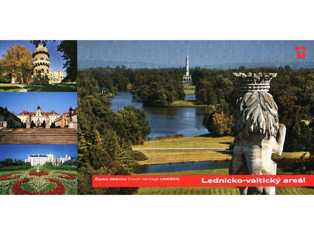 1442 2 pohlednice lednicko valticky areal