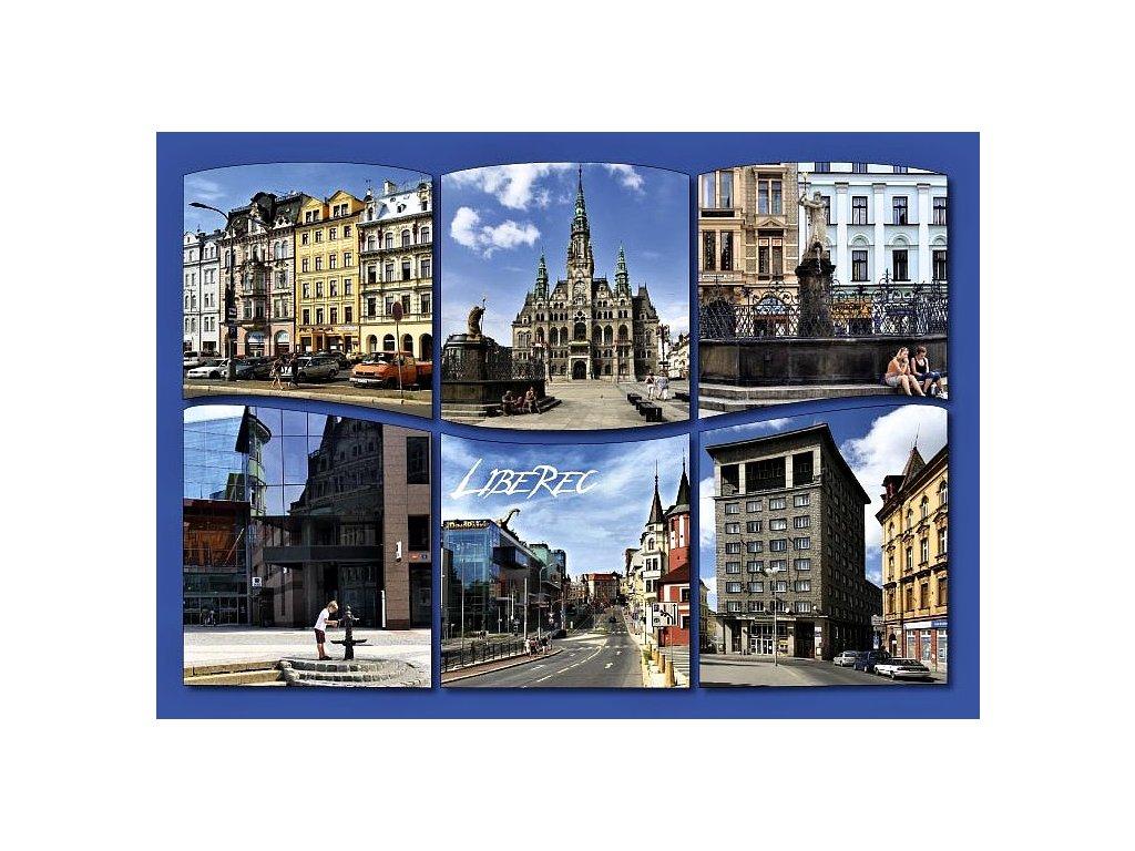 Postcard Liberec