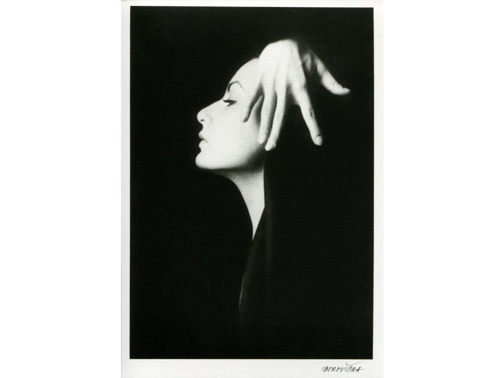 5582 2 pohlednice milan borovicka z cyklu zena 1987 2