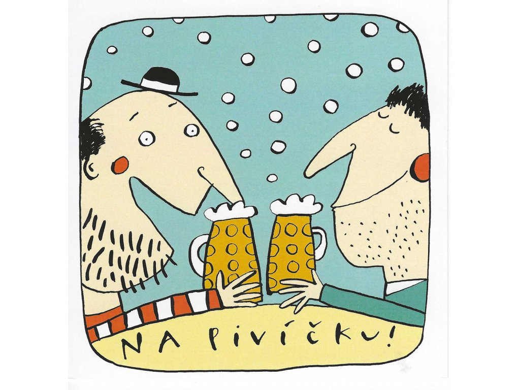 Postcards na pivíčku! square
