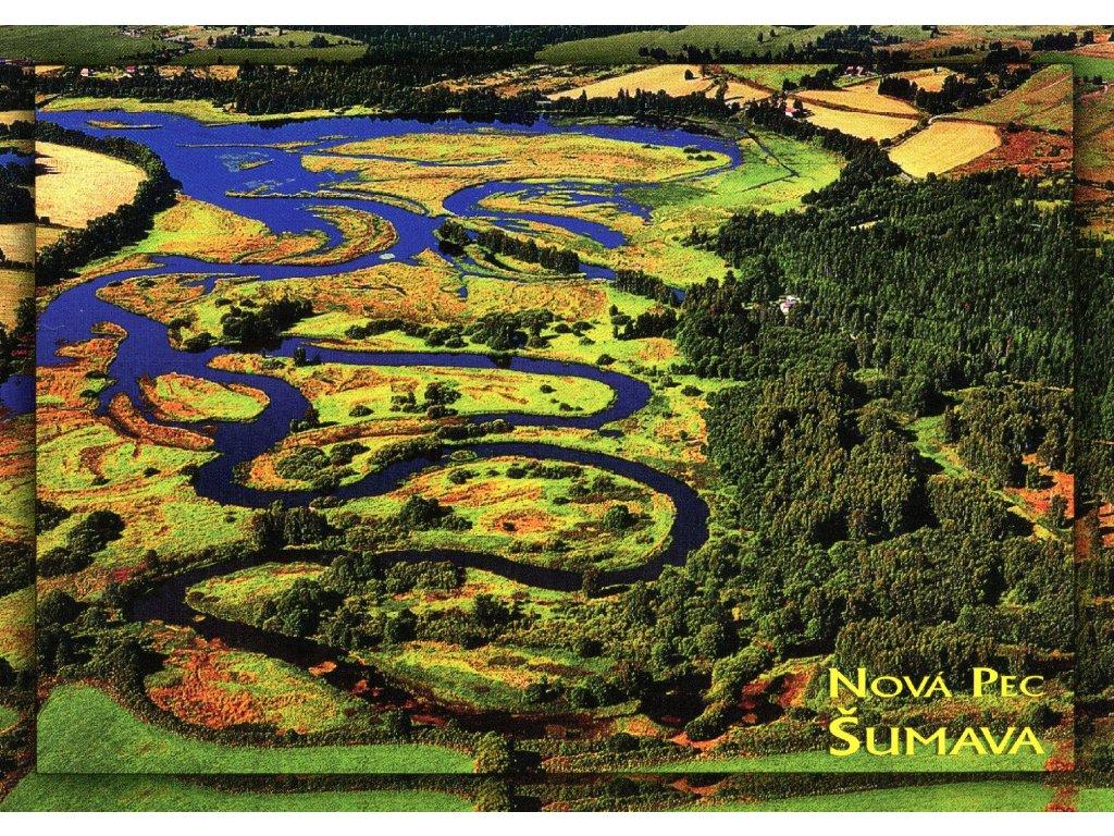 2063 2 pohlednice nova pec sumava