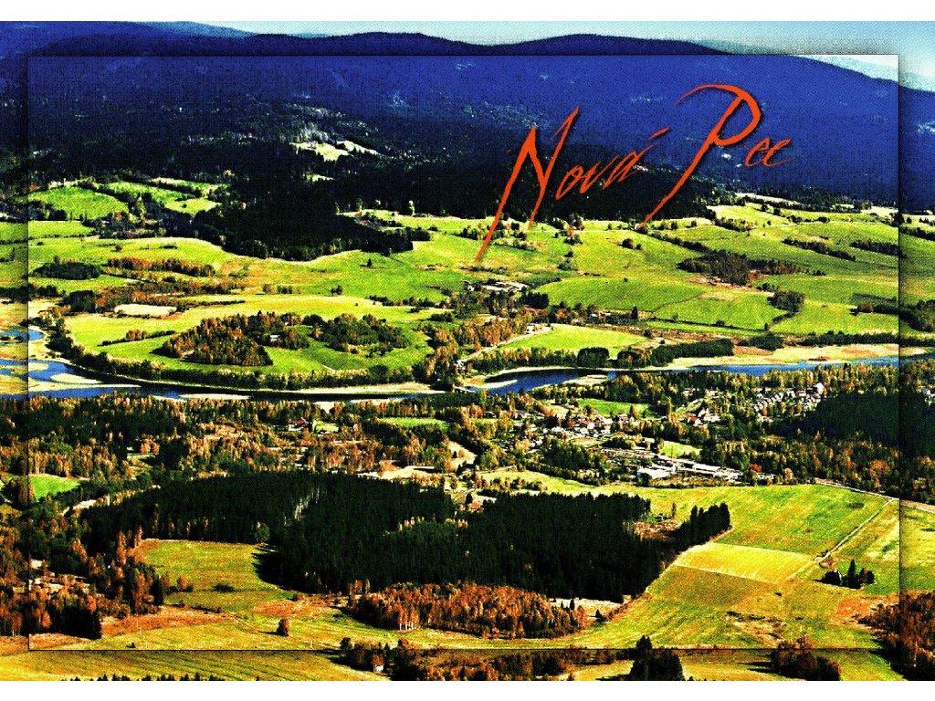 77 pohlednice nova pec vltava