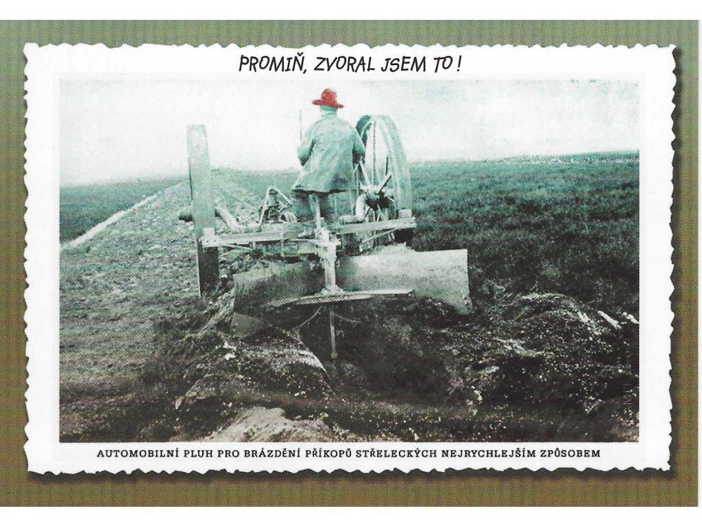 Postcard Apology