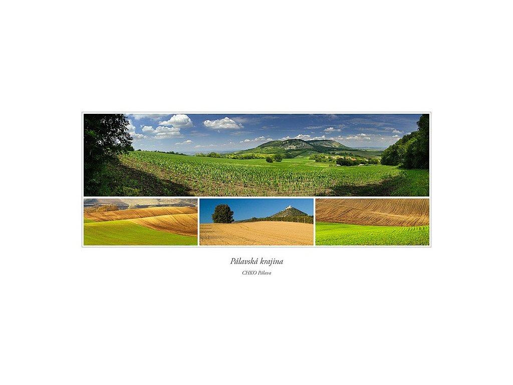 392 pohlednice palavska krajina siroka
