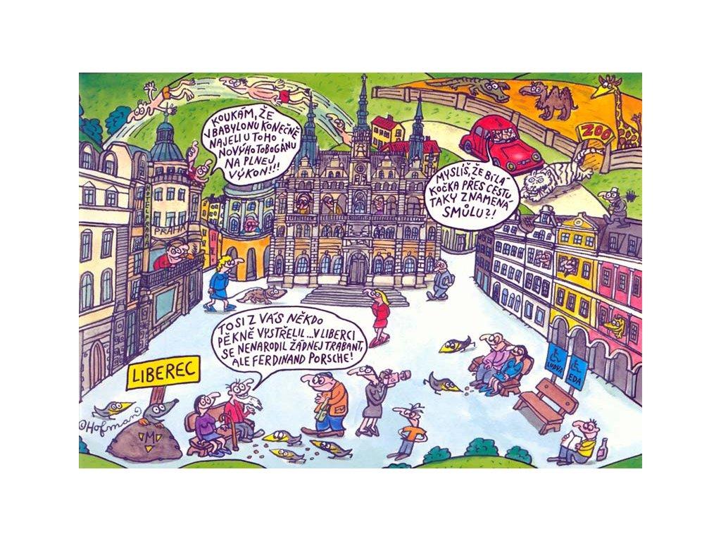 15515 3 pohlednice pidifrk liberec