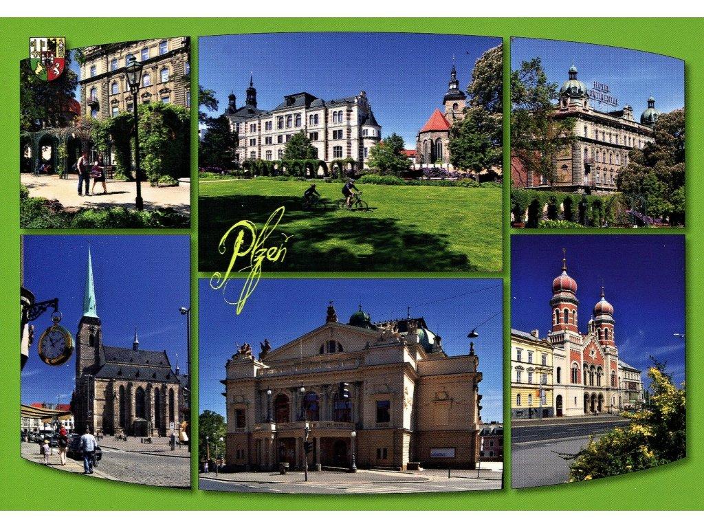 Postcard Pilsen 2