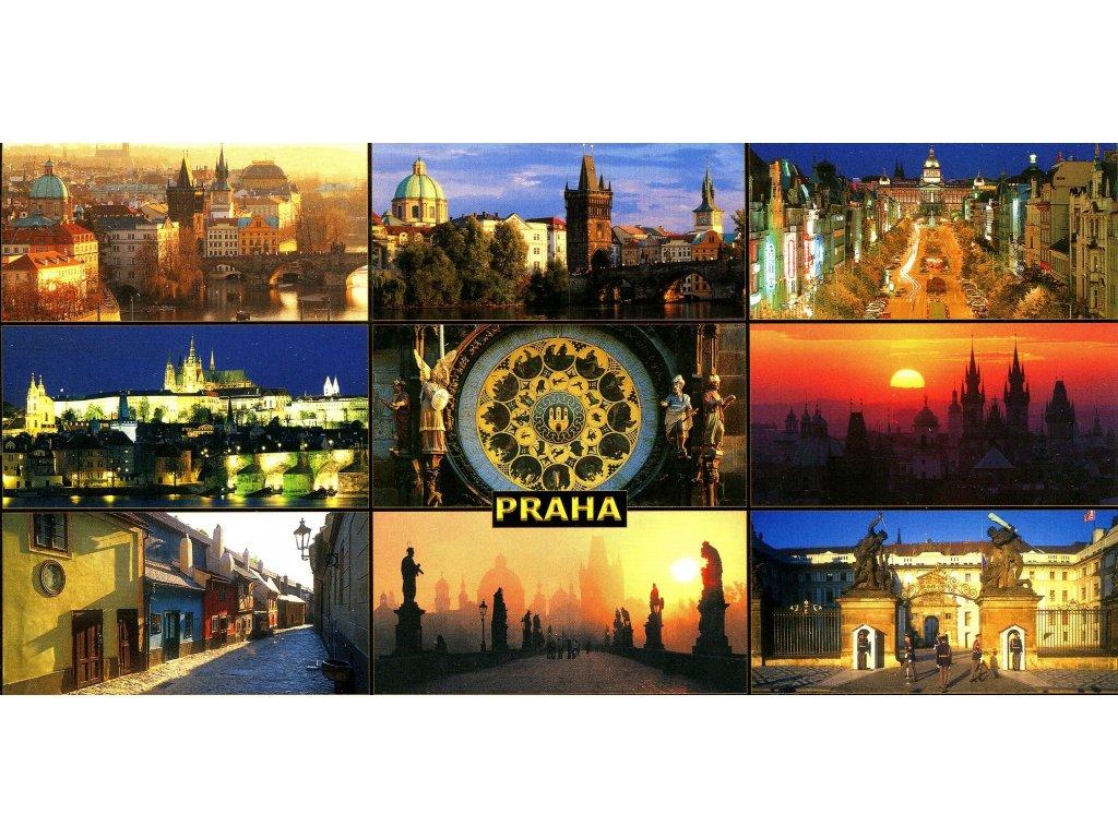 158 pohlednice praha 9x siroka