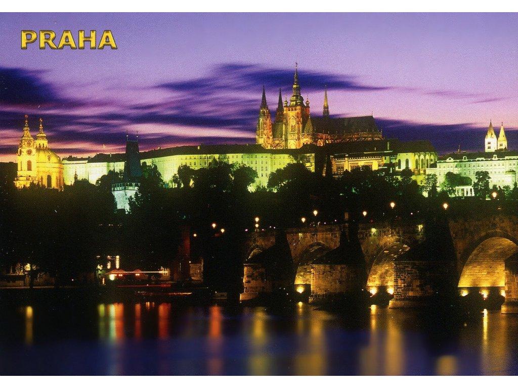4655 2 pohlednice praha prazsky hrad