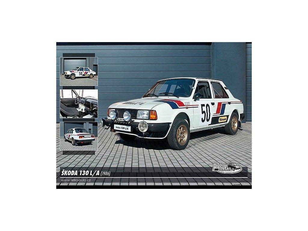 Postcards Skoda 130 L / A (1986)
