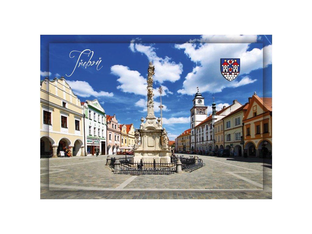 Postcard Trebon - Square