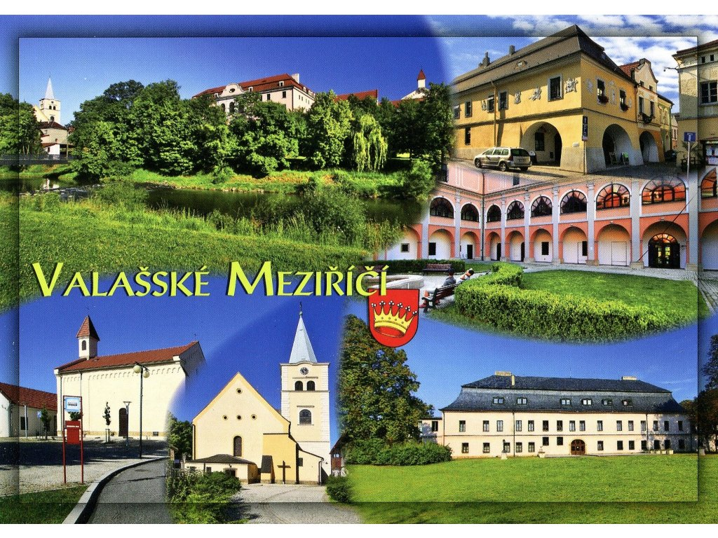 Postcard Valasske Mezirici