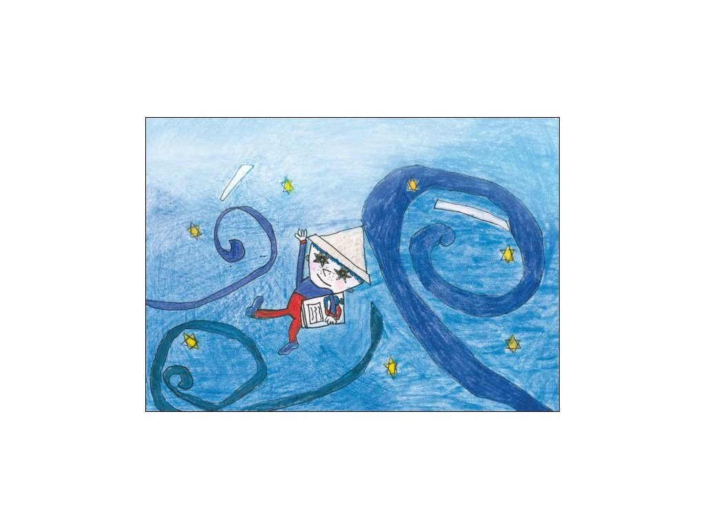 14132 3 pohlednice vecernicek detsky obrazek