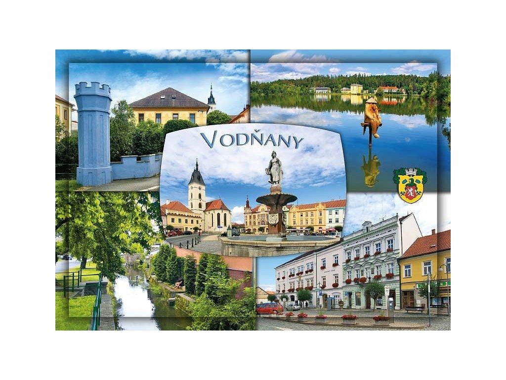 965 pohlednice vodnany