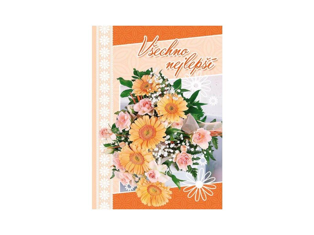 Postcard Happy Orange