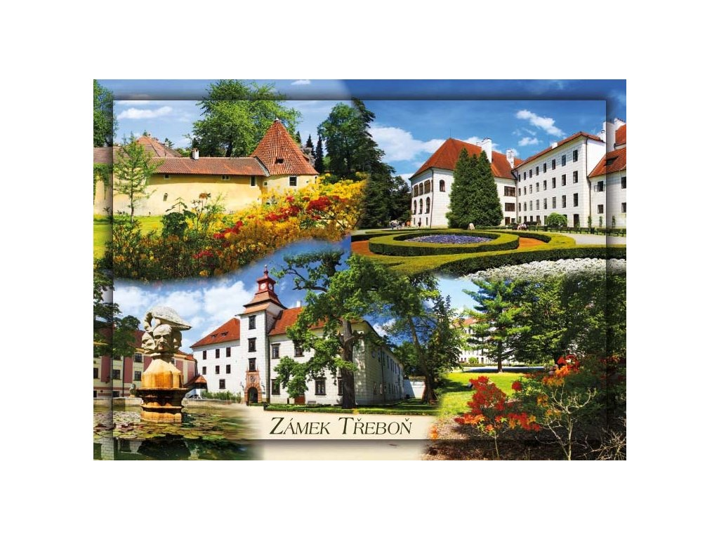 Postcard Trebon