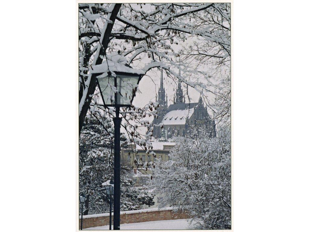 Postcard Winter in Brno 2