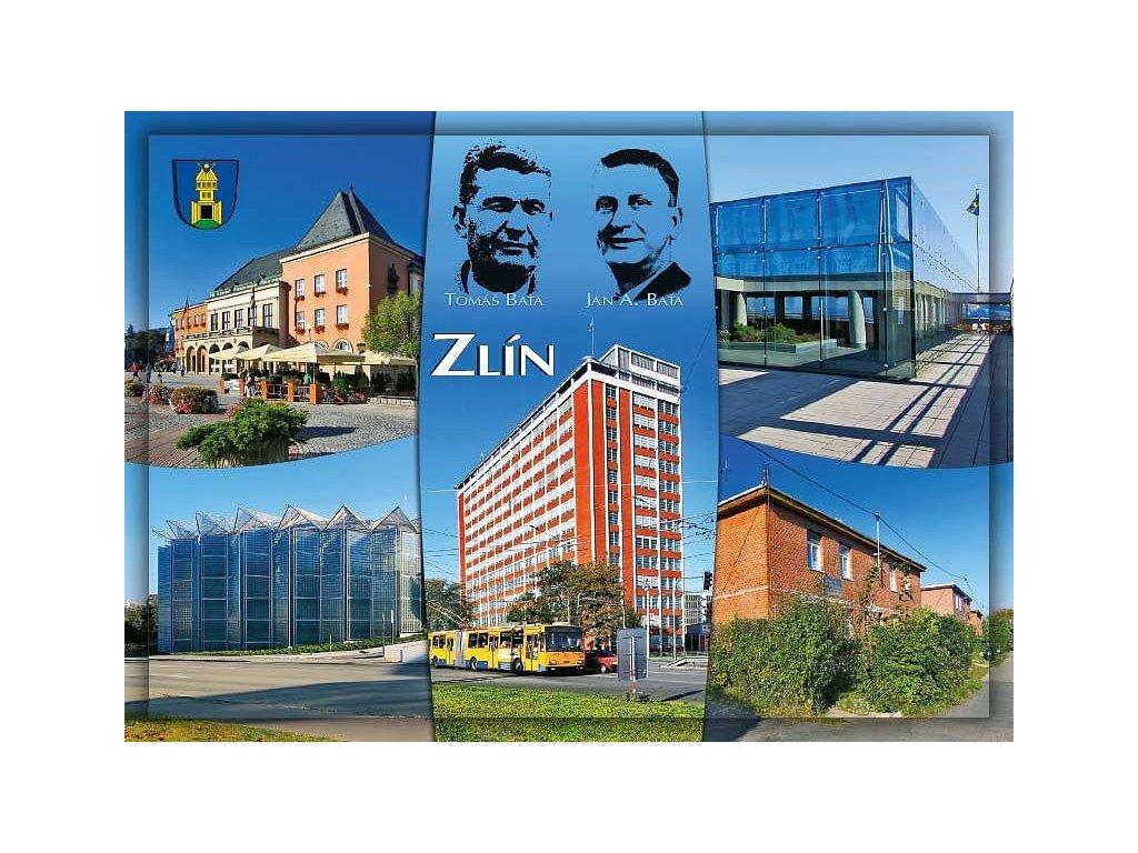 Postcard Zlín