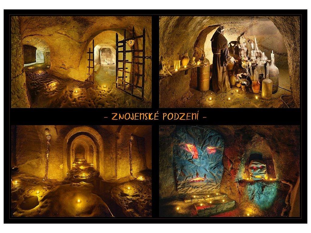 1283 pohlednice znojemske podzemi