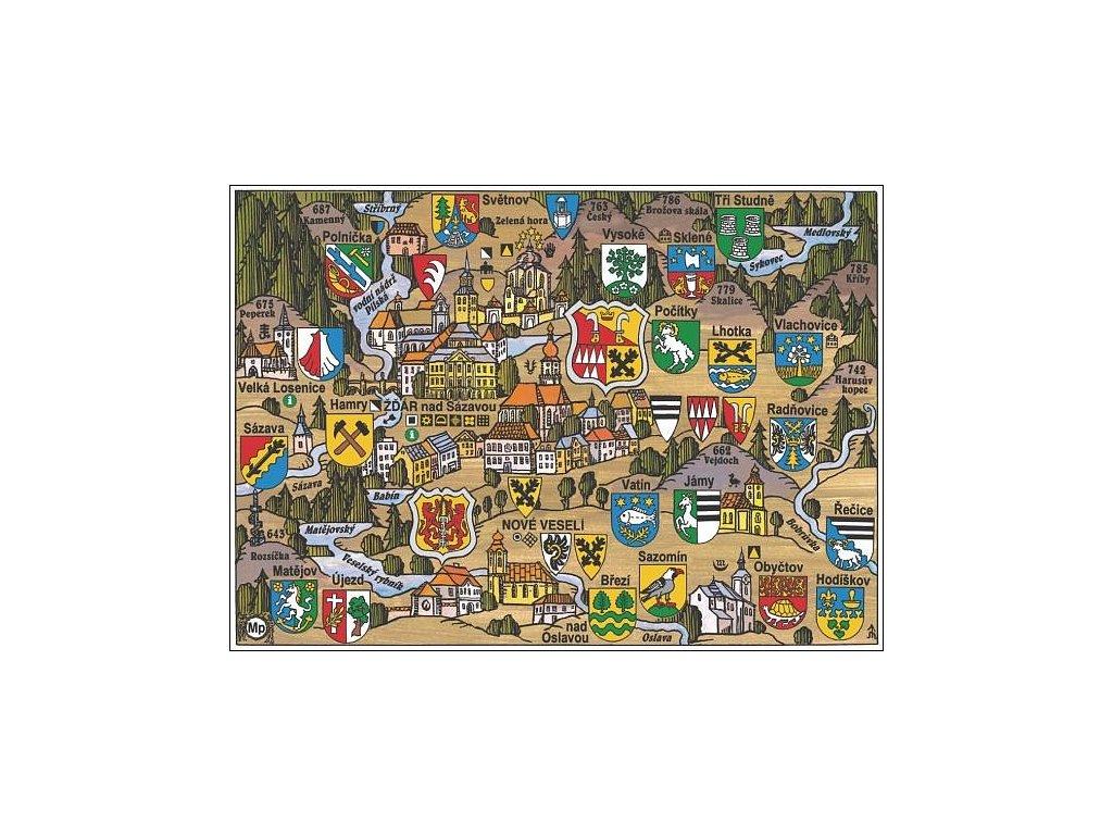 10520 1 pohlednice zdar nad sazavou