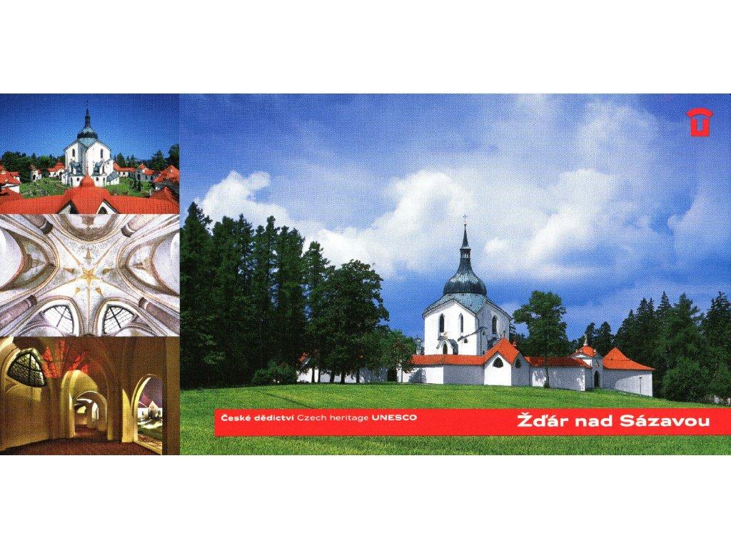 1439 2 pohlednice zdar nad sazavou