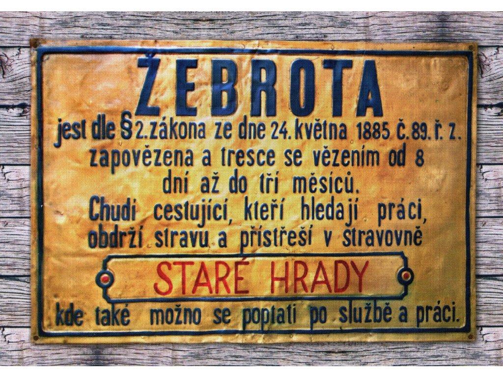 1940 2 pohlednice zebrota