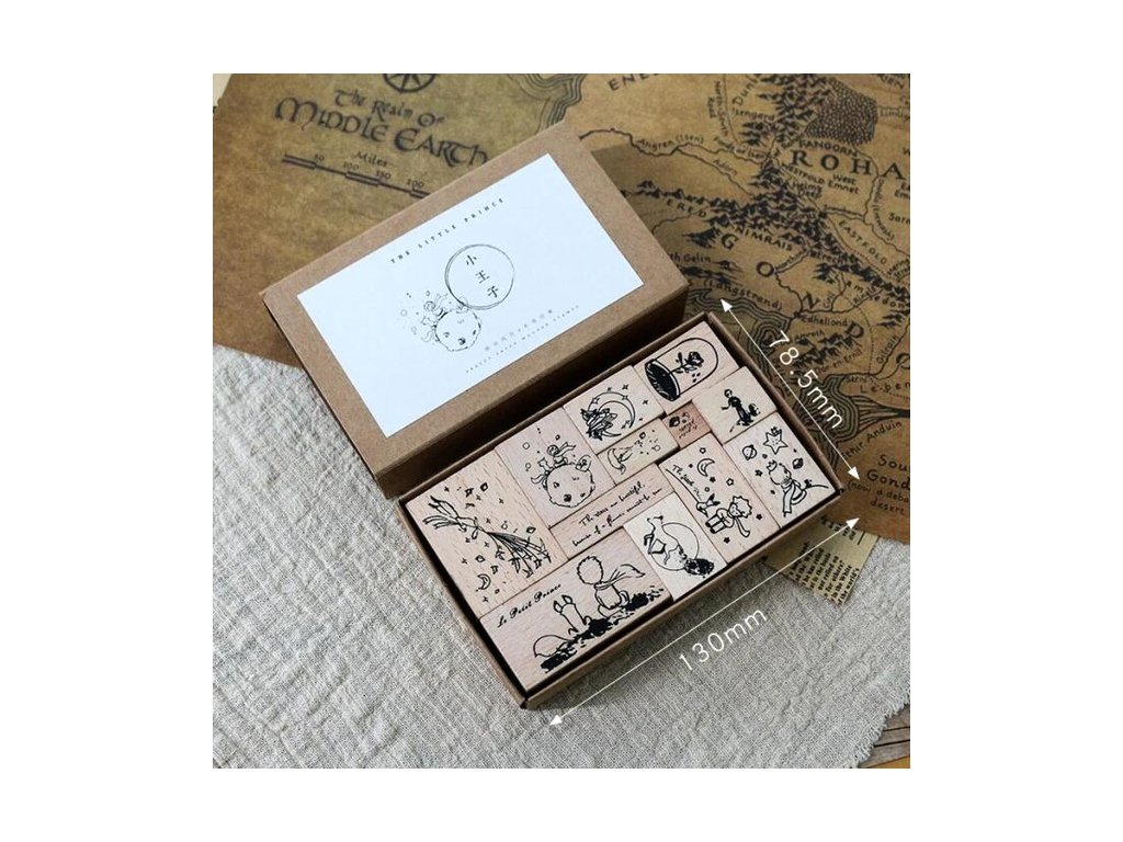 A set of stamps Little Prince